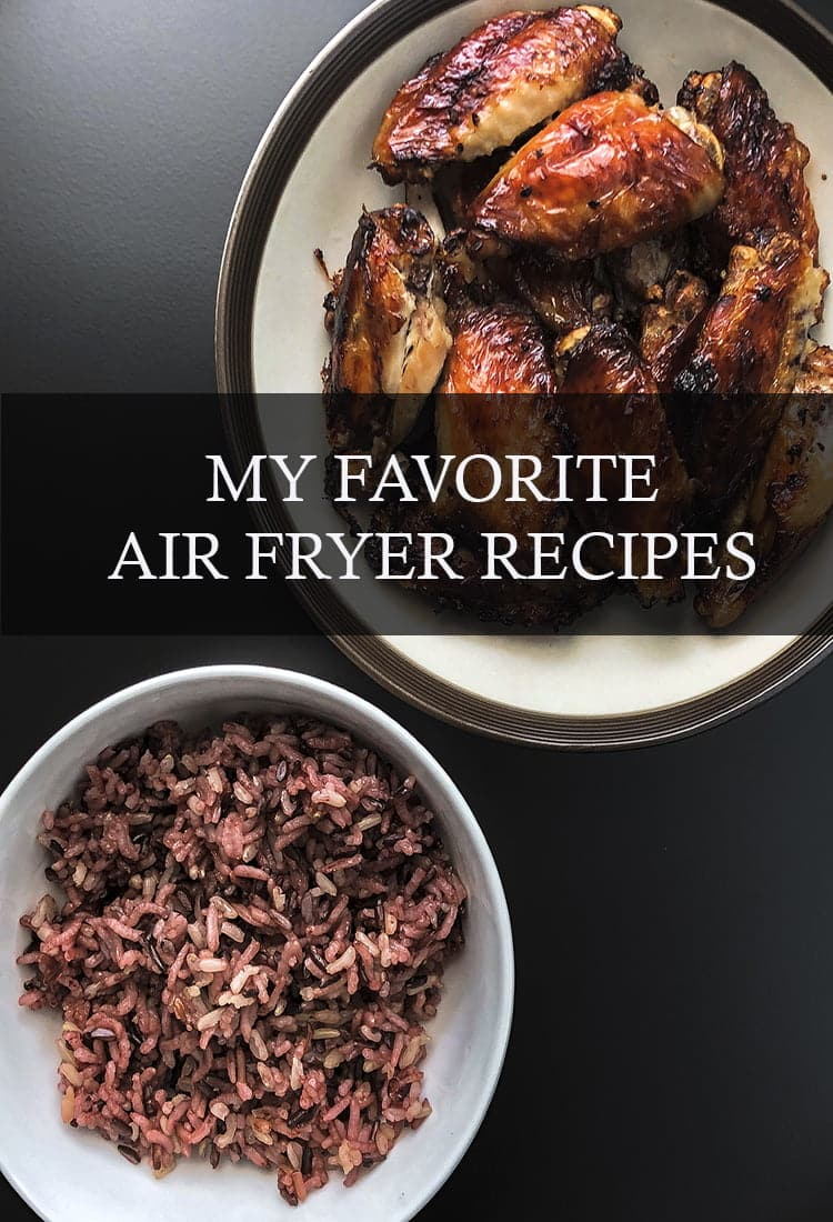 The Air Fryer is a total game changer in the kitchen, so I've gathered my favorite recipes for you to try!