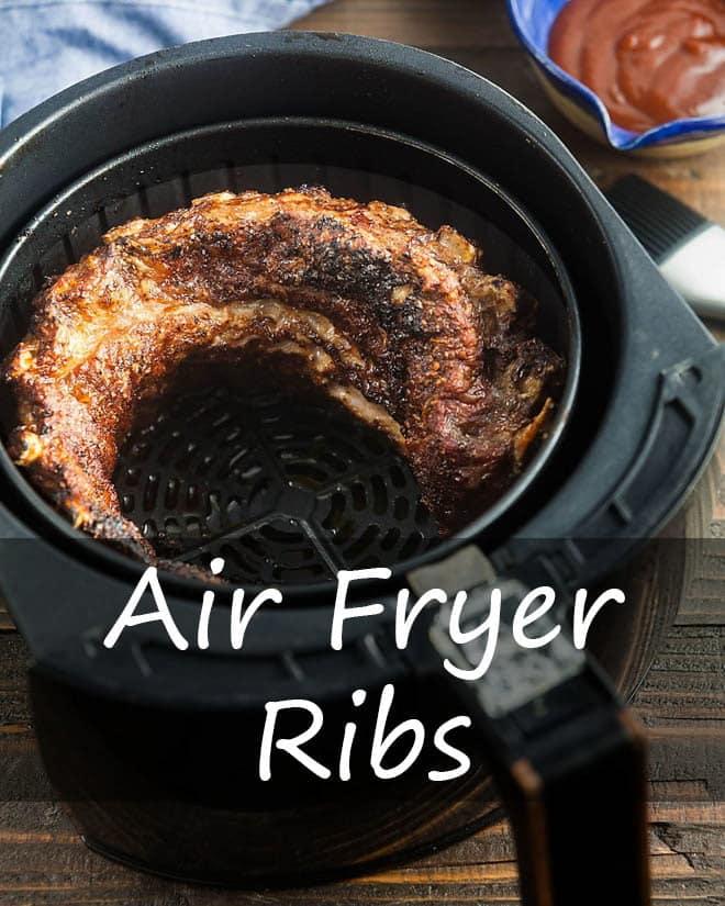 Air Fryer Ribs