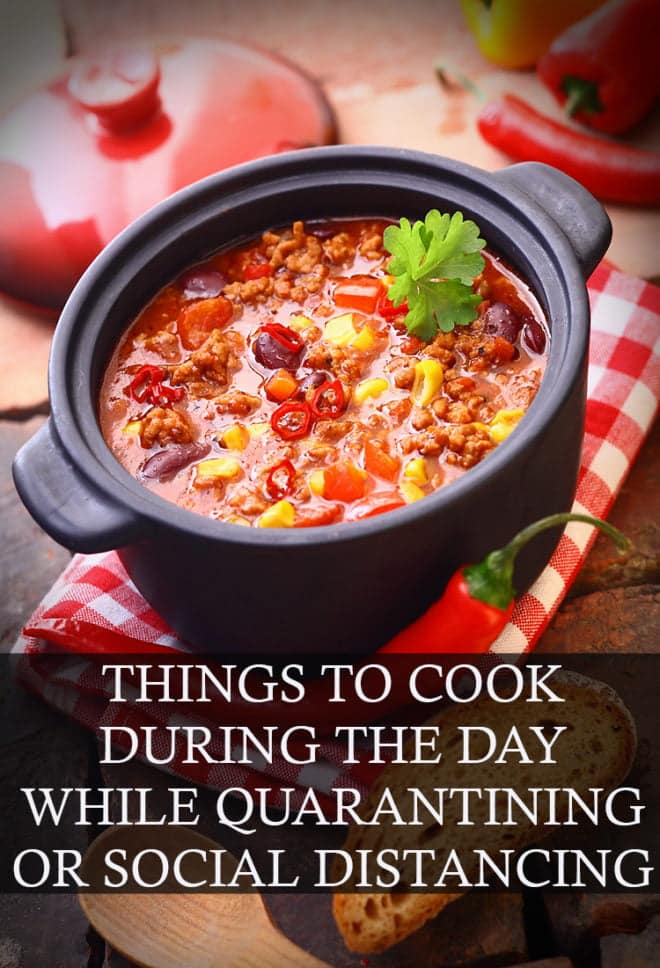 Make the most of being at home all day with these recipes!