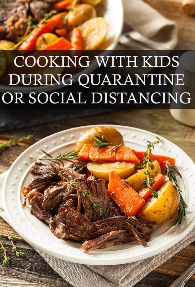 Make the most of having everyone home and get those kids cooking delicious meals with you!