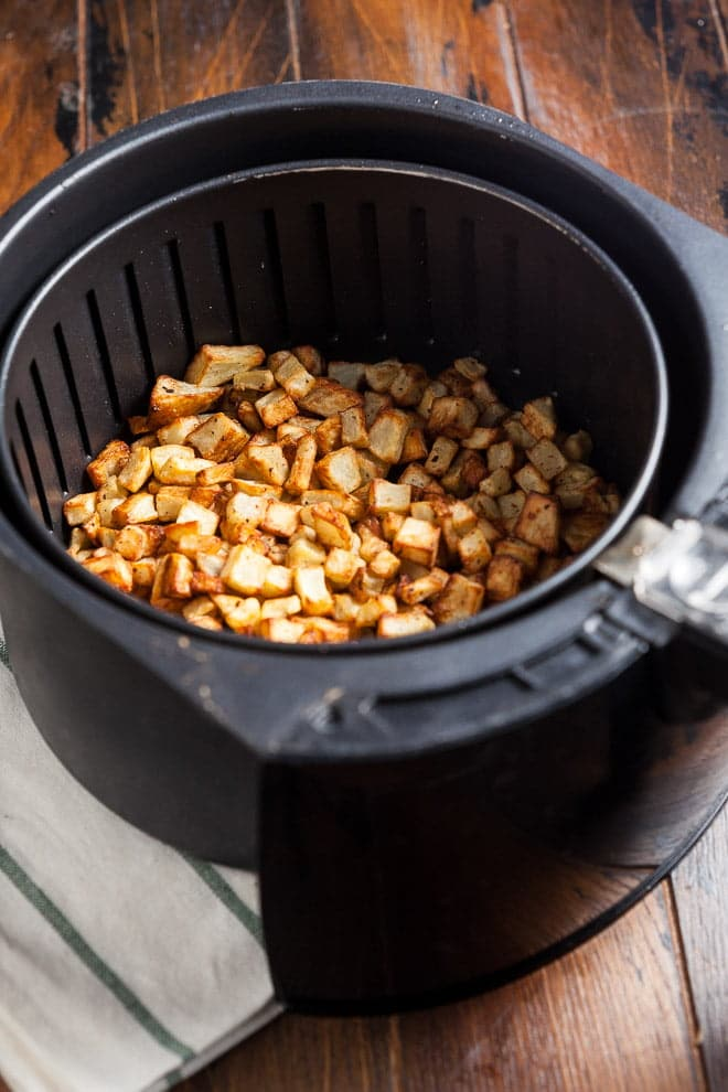 With a little help of an air fryer, you can have perfect diner-style home fries at home!