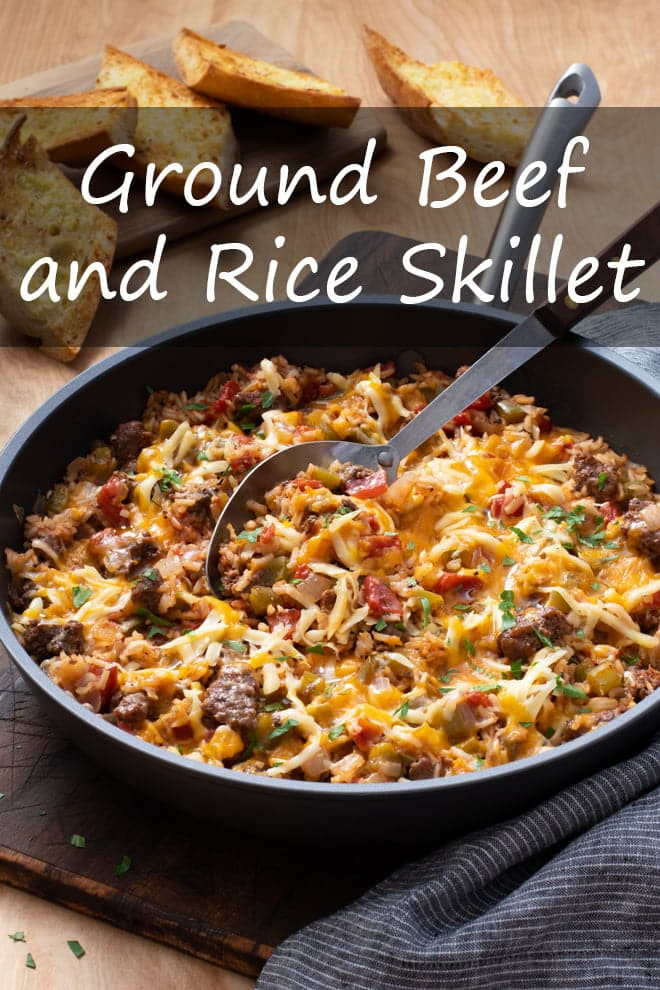 Ground Beef and Rice Skillet