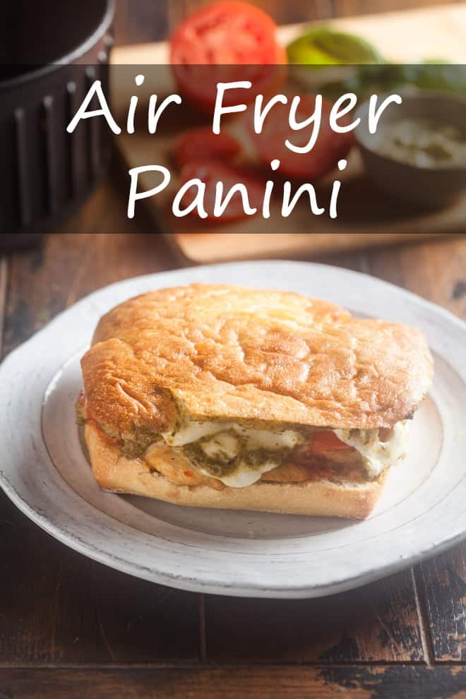Air Fryer Panini