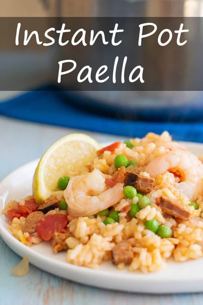 Instant Pot Paella