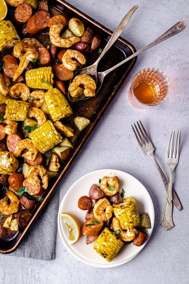 After you try this Sheet Pan Shrimp Boil recipe, you may never use a stockpot again. Honestly!