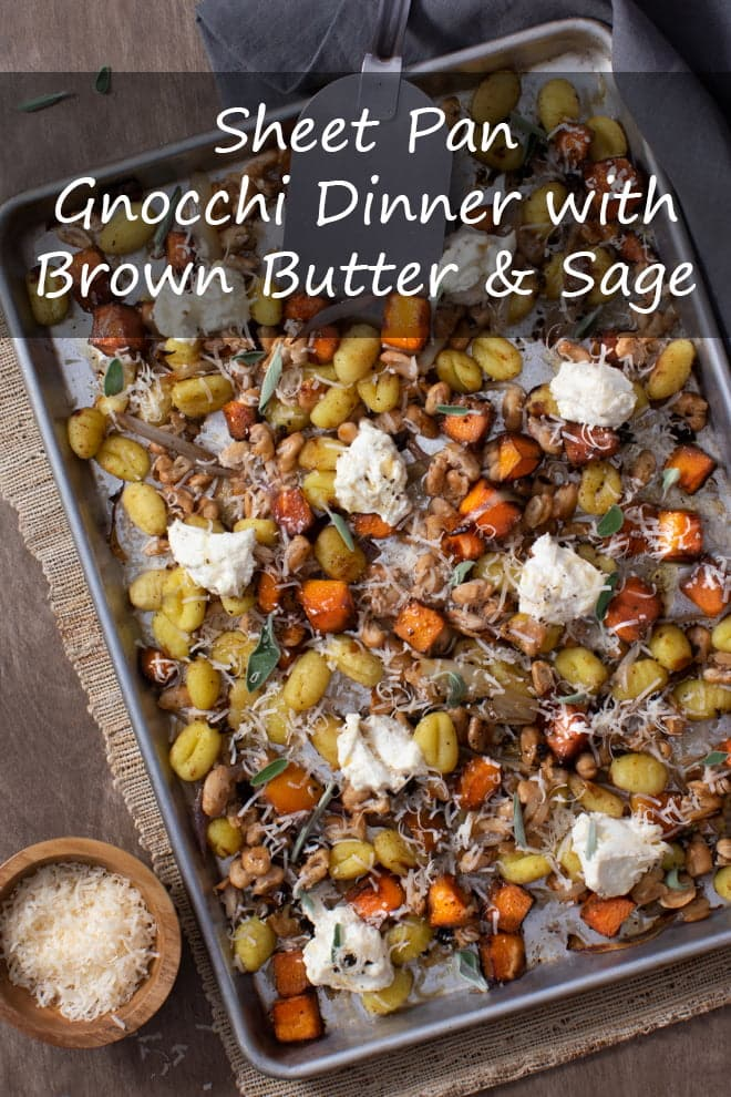 Sheet Pan Gnocchi Dinner with Brown Butter and Sage