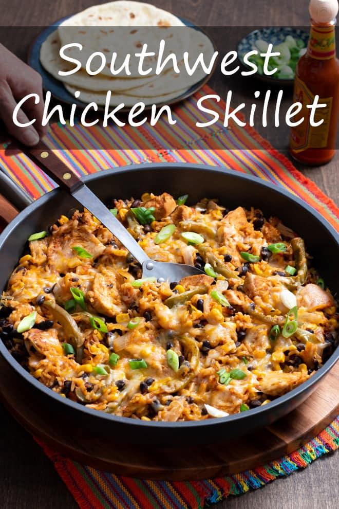 Southwest Chicken Skillet