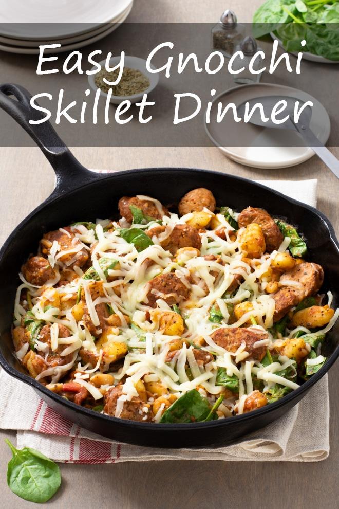 Easy Gnocchi Skillet Dinner