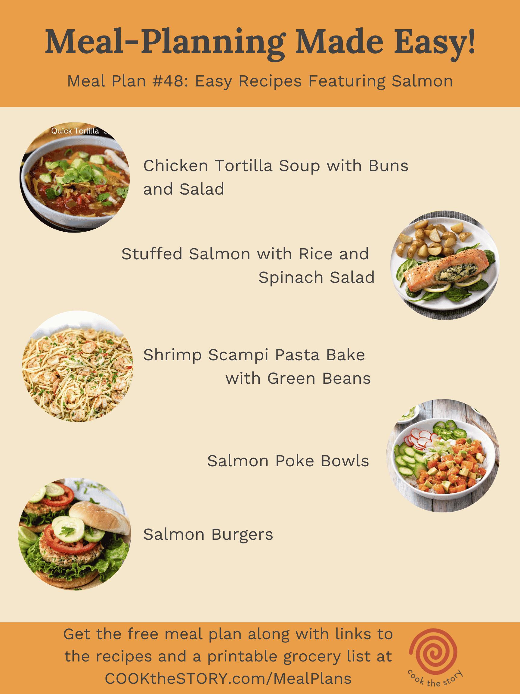 Meal Plan #48: Fresh Takes On Salmon